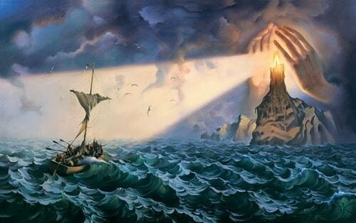 Sea & Ship - Vladimir Kush