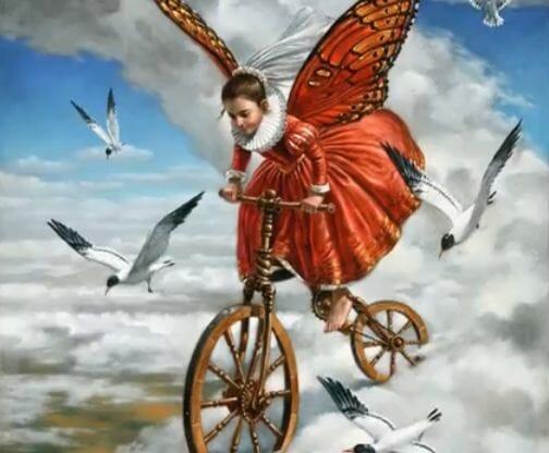 butterfly&seagulls-michaelcheval