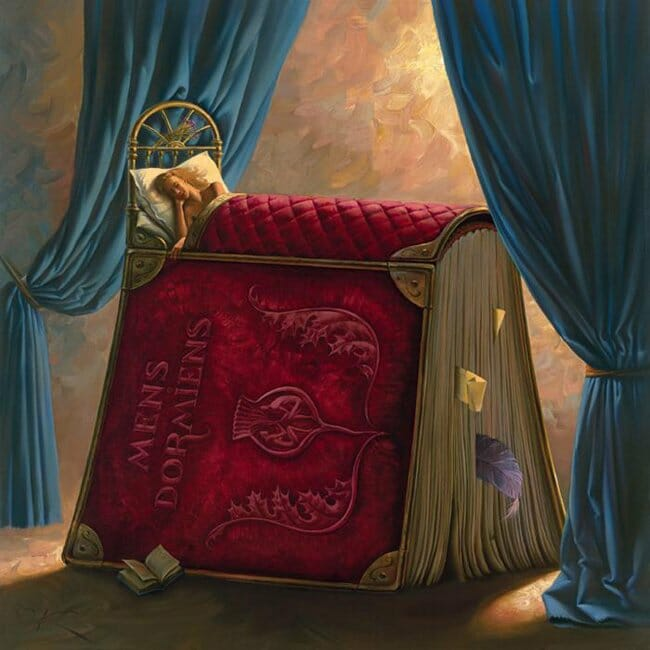 Pillowbook - Vladimir Kush