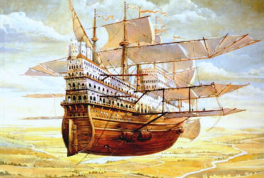 Flying Ship - Andrei Vereshchagin