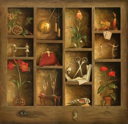 Matrix of Love - Vladimir Kush