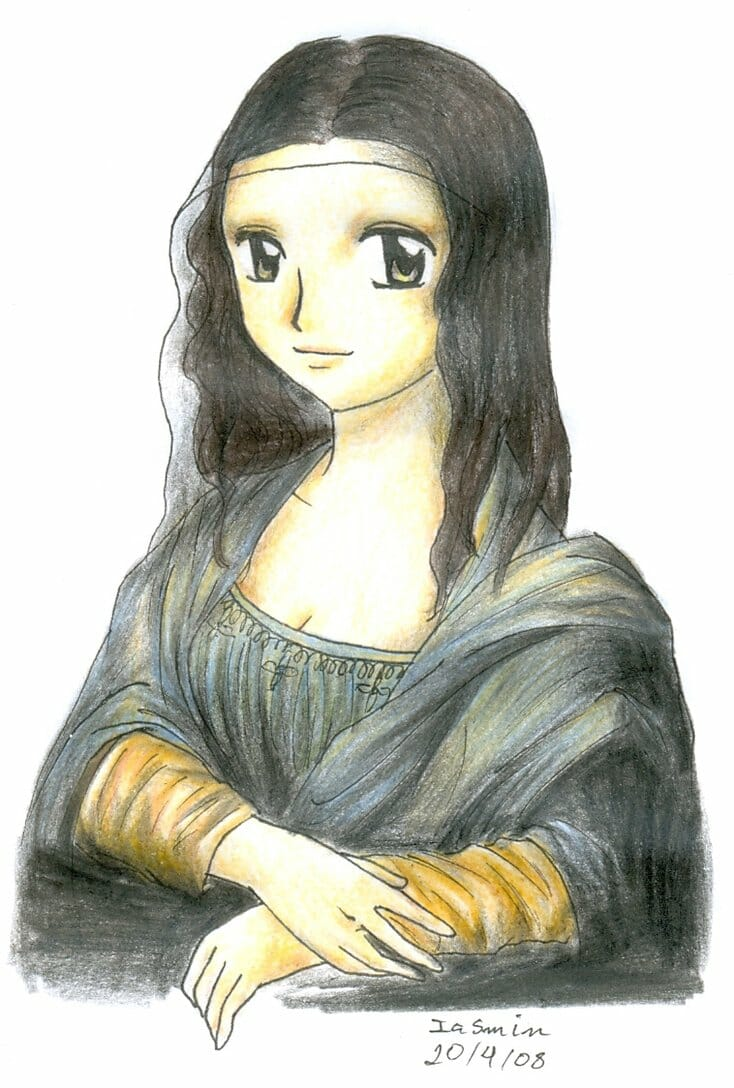 Mona_Lisa___Manga_Style_XD_by_Nisai