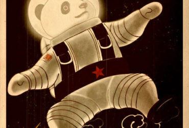 Panda Revolution VII - Fly Me to the Moon by William Chua
