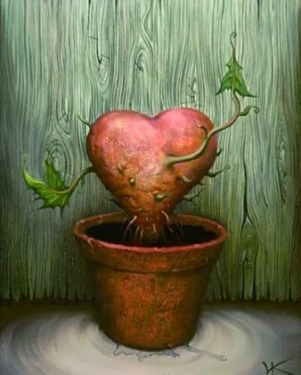 Love Plant - Vladimir Kush