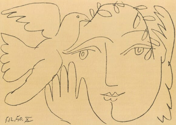 The Face of Peace by Picasso