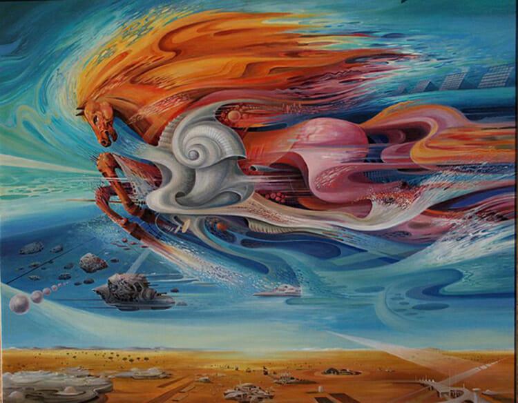 Painting by Vasco Tascovsky