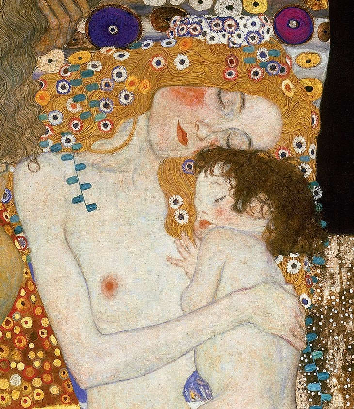 Mother & Child by Gustav Klimt